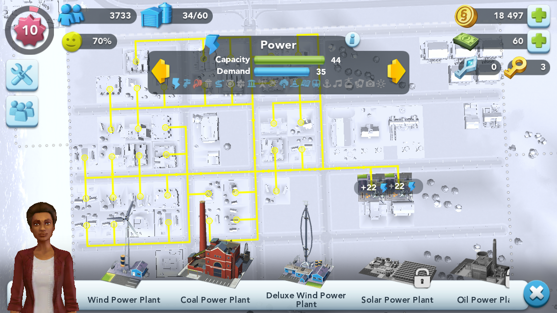 SimCity BuildIt — Initial build & layout · aplus rs