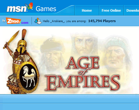 Age of Kings on zone.com
