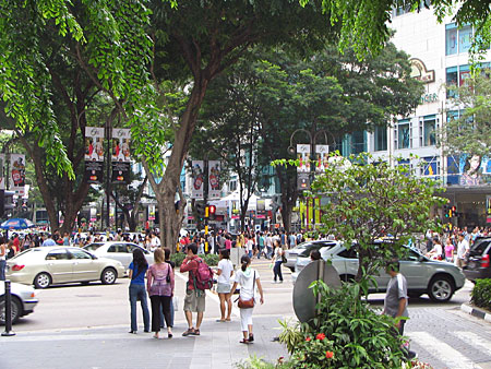 Orchard Road - the shopping avenue of Singapore